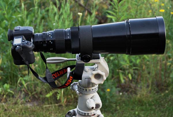 Pentax-4.5-500mm Teleobjektiv