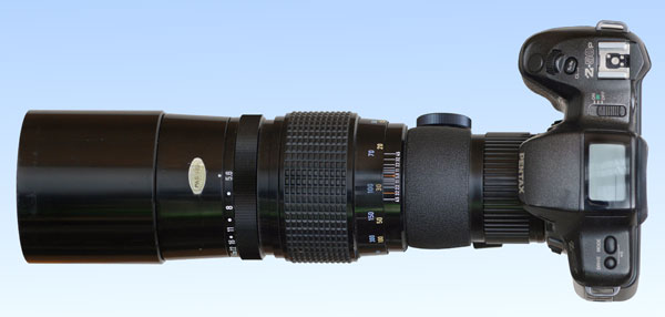 Pentax-SMC-K 5,6 400mm