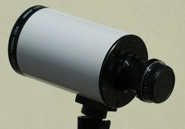 Soligor 5,6/500mm Spiegelobjektiv - justierbare Optik