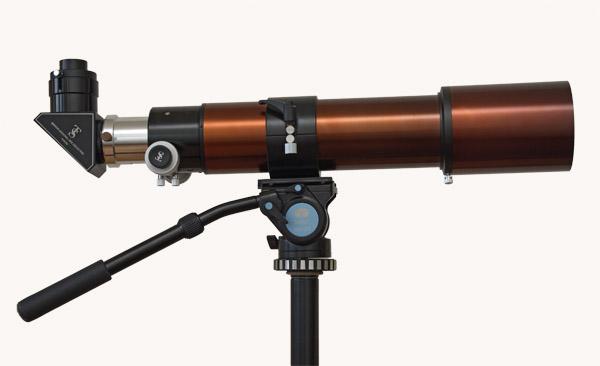 Teleskop. Scopos Triplet Apo 80/560 mm. Refraktor. Telescope